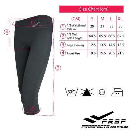 PRSP WOMEN'S FLEX LOW RISE LEGGINGS [BLACK]